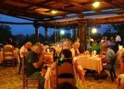 Restaurant im Freien